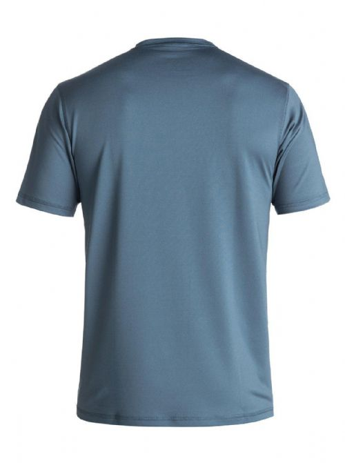 QUIKSILVER MENS RASH T SHIRT.NEW SCRYPTO UPF50+ TEAL WET/DRY TOP VEST 8S 86 BRP0
